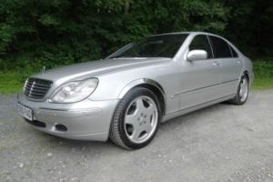MERCEDES S500L LIMO TIP-AUTO - AMG STYLING - P/PLATE - KEY-LESS GO - SAT NAV