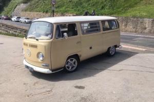 1968 early vw bay-window westfalia camper California import incredible history