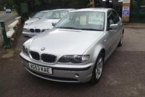 BMW 3 SERIES 2.2 320i SE AUTOMATIC SALOON, Silver, Auto, Petrol, 2003