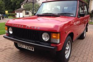 RANGE ROVER CLASSIC 3.5 V8 2 DOOR. 1981. A RARE ORIGINAL CAR & COMPONENT PARTS.