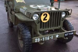 1961 HOTCHKISS M201 JEEP WITH WILLYS WW2 TUB