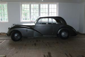 AC Cars 1950 Two Litre Saloon Works Development Car Project Barn Find