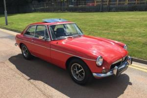 1971 MG BGT CHROME BUMPER TAX EXEMPT MOTD RUNING DRIVING PROJECT P/X WELCOME