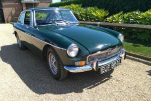 MGB GT - 1973 - Chrome Bumper - BRG - Dry Stored - Starts and Drives -