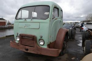 1955 White COE cabover engine truck, chassis cab