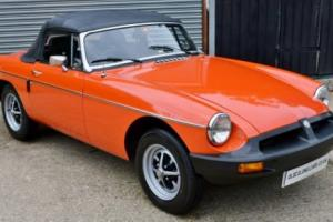 1981 MGB - ONLY 5900 Miles - 1 Owner Car - Garaged - Amazing example