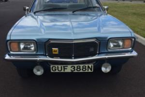 1974 VAUXHALL 2300 S AUTO BLUE LOW MILES 21,000