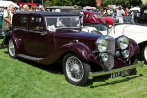 1935 Alvis Speed 20 SC Mayfair Saloon - Stunning, rare, iconic car! Photo