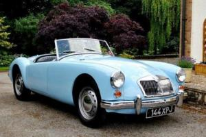 1962 MG A Roadster, Mk. II (1600cc) Photo