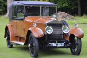 1926 Rolls Royce 20hp Barker All weather Cabriolet.