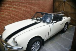 1971 MARK III Mk3 1.3L TRIUMPH SPITFIRE WHITE Photo