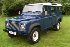 LAND ROVER DEFENDER 110 TD5 2001 9 SEATER 2 OWNERS GENUINE 25,500 FROM NEW