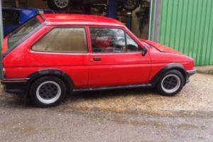 1985 FORD FIESTA XR2 MODIFIED TRACK CAR RACE RALLY ZETEC THROTTLE BODIES