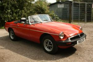 1977 MGB Roadster, Vermillion Red - fantastic car, ready to go! MG B