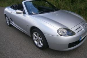MG TF 135 Convertible 2003 Lady owned from new Only 24,000 miles BARGAIN