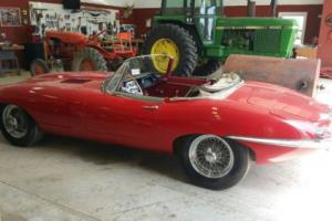 1963 Jaguar E Type Roadster Numbers matching XKE