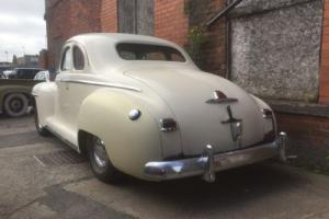 1947 Plymouth P15 Mopar Special Deluxe Business Coupe