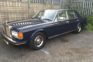 1981 ROLLS ROYCE BLUE SILVER SPIRIT Photo