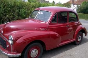 1954 SERIES 2 SPLITSCREEN MORRIS MINOR 2 DOOR, 61,000 MILES, ORIGINAL THROUGHOUT
