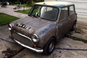 1963 Austin Mini mk1 BARN FIND Howley racing engine 1340cc, S discs etc