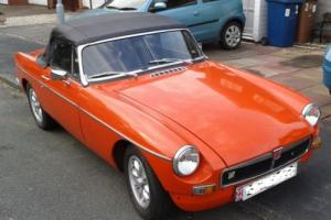 MGB Roadster classic car Photo