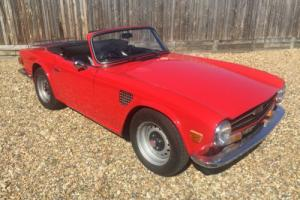 1972 Triumph TR6 150 BHP with Overdrive Photo
