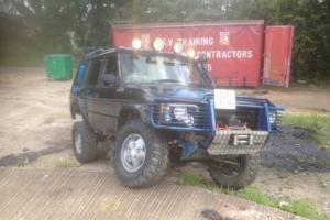 1993 LAND ROVER DISCOVERY 200 TDI MONSTER TRUCK SERIOUS OFF ROAD MACHINE 4X4