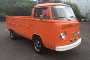 volkswagen bay window single cab dropside pick up 1974 in stunning condition