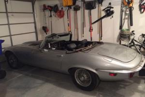 Jaguar E type 1974 V12 ots, matching numbers, EU registered, NO RESERVE CHEAP!