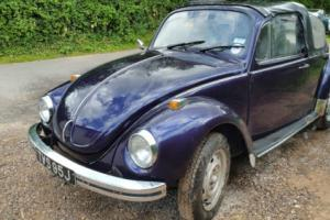 1970 VW Beetle convertible Project