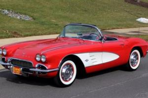 1961 Chevrolet Corvette Matching Numbers Original Dual Quads