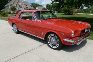 1966 Ford Mustang Deluxe Interior Coupe