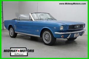 1966 Ford Mustang Convertible, Leather, Automatic