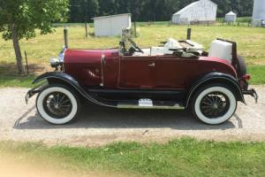 1983 Ford Model A