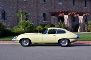 1966 Jaguar E-Type XKE 4.2 LITER FIXED-HEAD COUPE