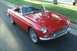 1963 MG MGB Roadster Photo