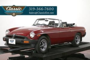 1979 MG MGB classic collector convertible sports car solid