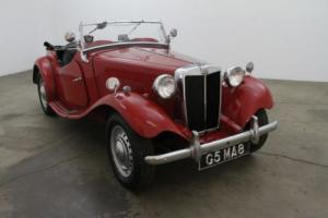 1950 MG TD Photo