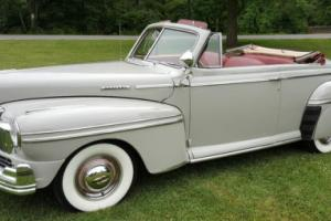 1947 Mercury 8 convertible coupe
