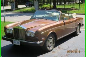 1978 Rolls-Royce Corniche Photo