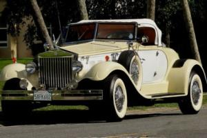 1979 Replica/Kit Makes BARON REPLICA REPLICA OF A 1936 ROLLS ROYCE