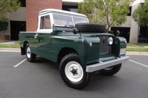 1962 Land Rover Defender SERIES IIa Photo