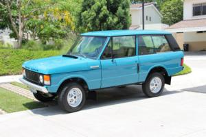 1976 Land Rover Range Rover Photo