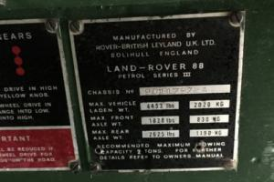 1975 Land Rover Other 4DR SUV
