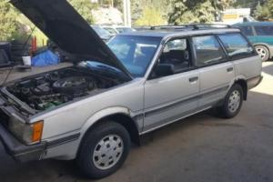 1986 Subaru Loyale Turbo