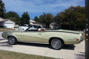 1970 Mercury Cougar Convertible in VIC