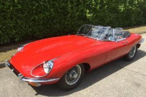 1968 Jaguar 'E' TYPE Series 2 Roadster 4.2 Matching Numbers European Spec LHD