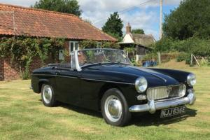 Mg Midget 1967 Last Owner For 30 Years
