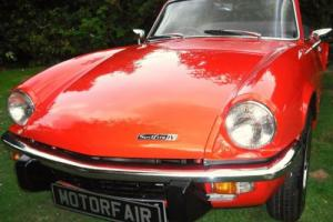 1972 TRIUMPH SPITFIRE MK4 1300cc, PIMENTO RED, STUNNING THROUGHOUT