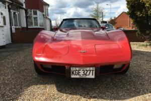 1979 Chevrolet Corvette C3 Auto Red